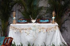 caribbean themed centerpieces for tables - Google Search