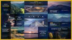 Dynamic Minimal Slides (Corporate) #Envato #Videohive #aftereffects