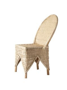 Wicker Chair – Cabana Magazine Wicker Armchair, Wicker Chairs, Antique Chairs, Wicker Furniture, Cool Furniture, Modern Furniture, Dining Chairs, Bohemian House, Moroccan Design