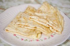 One Ingredient Crepes.   That is barring the water and the fat to grease the pan.
