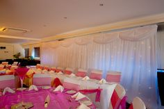 Cobo Bay Hotel, is a fabulous venue for a wedding and event, with decorations from Bonboniera, Guernsey Guernsey, Reception Ideas, Wedding Planning, Decorations, Creative, Projects, Home Decor, Homemade Home Decor, Blue Prints
