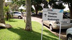 Estacionamento - Próximo Clínica 3 - Faculdade de Odontologia de Araçatuba - Unesp