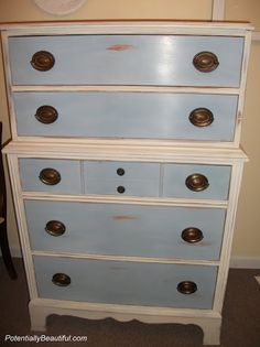 Say what you will about the price, but man I love Annie Sloan Chalk Paint. This is fantastic.