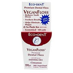 Eco-Dent VeganFloss - eco-friendly floss without a plastic box (affiliate)