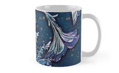 """Glorious Morning"" Mugs by Cindi Hardwicke #CoffeeTime #GiftIdea #Mother'sDay #MorningGlory #Floral #FlowerArt #Garden | Redbubble"