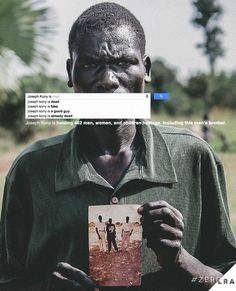 8 things you didn't know about Joseph Kony. #zeroLRA #facts