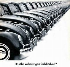 VolksWagen Beetle, has the fad died out.