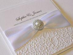 Luxury Handmade Wedding Invitation (Florence) x 1 sample Wedding Cards Handmade, Diy Wedding, Wedding Day, Handmade Wedding Invitations, Wedding Stationary, Marriage Box, Envelopes, Invitation Cards, Invitation Ideas