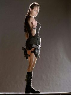 Tomb Raider. Perfect minus the middle finger.....