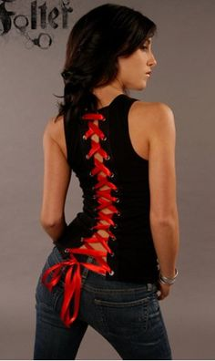 Folter FULL BACK CORSET BEATER WOMENS TANK on Chiq  $37.00 http://www.chiq.com/folter-full-back-corset-beater-womens-tank