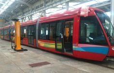 Presentan tranvía que será usado como simulador en el ITSO de La Chorrera…