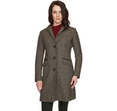 Loving my new Barbour winter coat. Super stylish and - a bit too - warm.