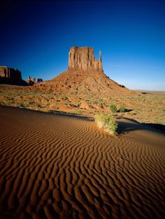 Monument Valley and Sand Dunes, Arizona, USA