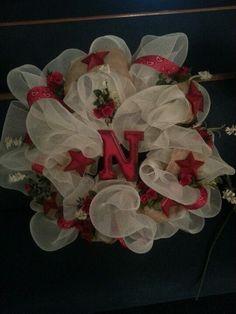 Western mesh wreath