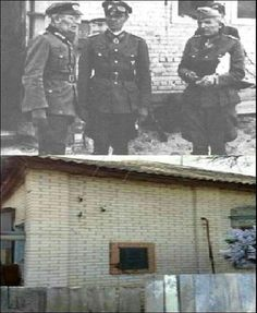 Then & Now Stalingrad, Gumrak 6th Army H.Q. and airfield.