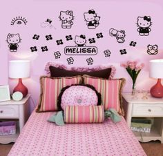 Cool Hello Kitty Bedroom 2014