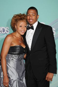 Nick Cannon & Mom
