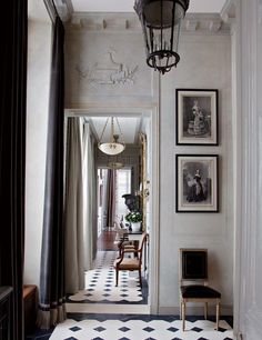 Rerepinned Traditional Entrance Hall by Jean-Louis Deniot in Paris, France