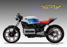 Racing Cafè: Cafè Racer Concepts - BMW Supercafè by Oberdan Bezzi Bike Bmw, Cafe Bike, Cool Motorcycles, Cafe Racer Motorcycle, Motorcycle Design, Cafe Racer Bikes, Retro Motorcycle, Bobber, Concept Bmw