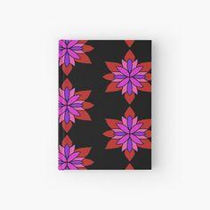 """Lotus Star Design"" Hardcover Journal by Pultzar | Redbubble"
