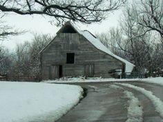 Vintage Ozark Barn,  J' Larson