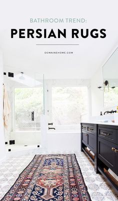 Take part in this new bathroom trend!