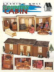 Fashion Doll Country Cabin - Electronic Download