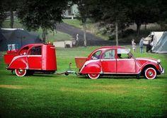 How cute, it's like the car has an echo!