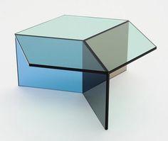 Couchtisch Glas Beine Platte Design Modern