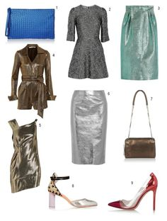 It is easy to dress up an outfit but adding some metallics for some fun and shine. They are easy to slip into your wardrobe and can be worn night or day.