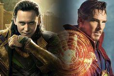 Tom Hiddleston Wants a Loki Vs. Doctor Strange Showdown