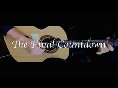 Europe - The Final Countdown - Fingerstyle Guitar - YouTube