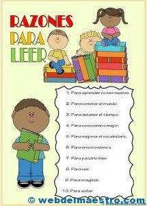 cartel color-día del libro Idioms, Learning Spanish, Classroom, Teacher, Scrapbook, Education, Website, Comics, Reading
