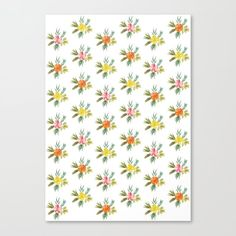 Botanic Pattern #1 | For a new, high quality natural cosmetic line, I created different watercolor paintings. All paintings couldn't be used, so I'd like to share it with you – here you can see a botanic pattern. #Painting #Watercolor #Decoration #Unique #Design #Watercolor #Colorful #Paint #Herb #Herbs #Botanic #Pattern #Flower #Flowers #Nature #Floral #Garden #Botanical #Elegant #Plant #Kathrinmay #artprint #society6