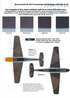 Art-Messerschmitt-Bf-109E-RLM-70-02-simplified-1940-scheme-02