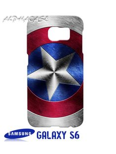 Shield Captain America Samsung Galaxy S6 Case Hardshell