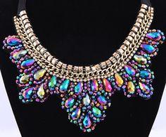 Naszyjnik kołnierzyk choker kryształ EdiBazzar Jewelery, Beauty, Top, Fashion, Jewlery, Moda, Jewels, Jewerly, Fashion Styles