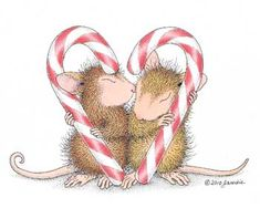 """Maxwell & Amanda featured on The Daily Squeek® for November 30th, 2014. Click on the image to see it on a bunch of really """"Mice"""" products."""
