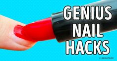 17Seriously Inventive Nail Hacks You'll Wish You'd Known About Sooner