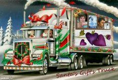 Santa's Gift's Truck