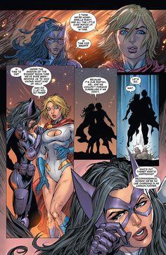 Worlds finest huntress and power girl Dc Comics Characters, Dc Comics Art, Comics Girls, Fun Comics, Marvel Dc Comics, Power Girl Comics, Power Girl Dc, Comic Book Covers, Comic Books Art
