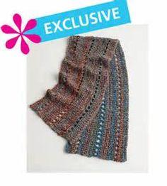 Free Crochet Pattern: Homespun® Prayer Shawl / Healing Shawl