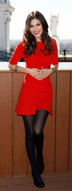 05/02/14 - interview tomorrow!! Decided to wear my red dress with black tights and my cape with brown boots. Think that'll be ok? :-) well prepared and quite excited!!