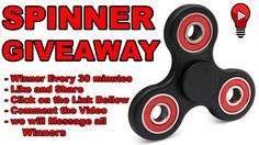 Hand SPINNER FREE !! GET YOUR TODAY ! FREE FREE FREE