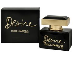 Dolce & Gabbana The One DESIRE Perfume And Cologne, Perfume Bottles, Dolce E Gabbana, The One, Place Card Holders, Sensual, Floral, Oriental, Women's Fashion