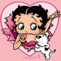 #bettyboop #popfunk  http://www.popfunk.com/mens-tees/betty-boop/boop-i-love-betty.html