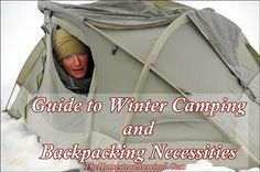 Guide to Winter Camping and Backpacking Necessities - - Homesteading -- The Home. - Guide to Winter Camping and Backpacking Necessities – – Homesteading — The Homestead Survival - Kayak Camping, Diy Camping, Camping Survival, Camping With Kids, Camping Hacks, Homestead Survival, Camping Hammock, Survival Gear, Campsite