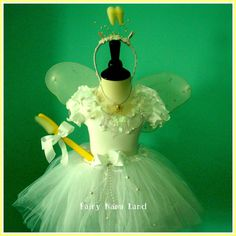 TOOTH FAIRY costume for children - made to order children's sizes 2 - 12. $85.00, via Etsy.