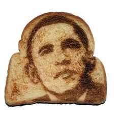 Creative toast art
