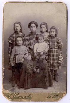 Horowitz family, Vilna, Poland, ca. 1905, National Museum of American Jewish History, 1983.27.1